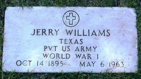 WILLIAMS, JERRY - Yavapai County, Arizona | JERRY WILLIAMS - Arizona Gravestone Photos