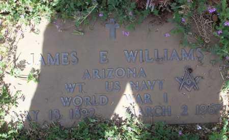 WILLIAMS, JAMES E. - Yavapai County, Arizona   JAMES E. WILLIAMS - Arizona Gravestone Photos