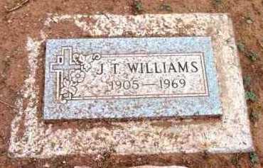 WILLIAMS, JOSEPH THEODORE - Yavapai County, Arizona | JOSEPH THEODORE WILLIAMS - Arizona Gravestone Photos