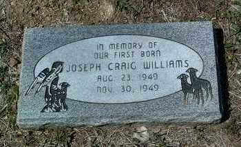 WILLIAMS, JOSEPH CRAIG - Yavapai County, Arizona | JOSEPH CRAIG WILLIAMS - Arizona Gravestone Photos