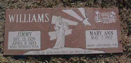 WILLIAMS, JIMMY - Yavapai County, Arizona | JIMMY WILLIAMS - Arizona Gravestone Photos