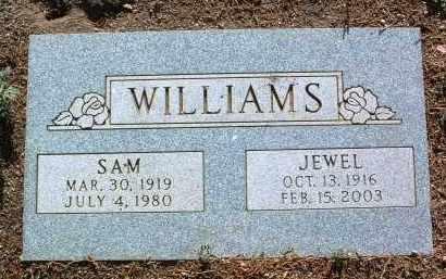 GOSWICK WILLIAMS, JEWEL HINSAN - Yavapai County, Arizona   JEWEL HINSAN GOSWICK WILLIAMS - Arizona Gravestone Photos