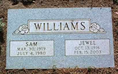 WILLIAMS, JEWEL HINSAN - Yavapai County, Arizona | JEWEL HINSAN WILLIAMS - Arizona Gravestone Photos