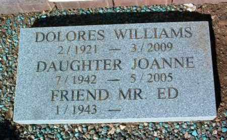 WILLIAMS, JOANNE - Yavapai County, Arizona | JOANNE WILLIAMS - Arizona Gravestone Photos