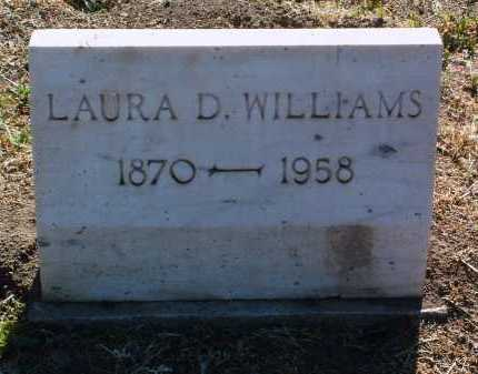 CREW WILLIAMS, LAURA D. - Yavapai County, Arizona | LAURA D. CREW WILLIAMS - Arizona Gravestone Photos