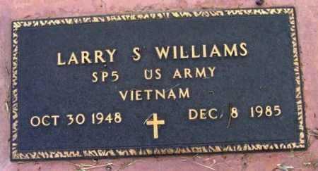 WILLIAMS, LARRY S. - Yavapai County, Arizona | LARRY S. WILLIAMS - Arizona Gravestone Photos