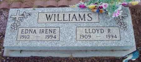 WILLIAMS, EDNA IRENE - Yavapai County, Arizona | EDNA IRENE WILLIAMS - Arizona Gravestone Photos