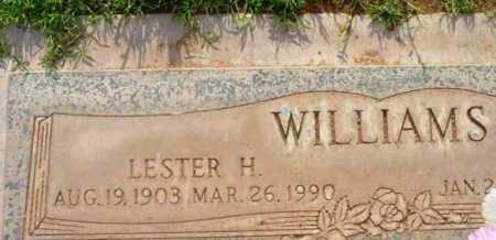 WILLIAMS, LESTER H. - Yavapai County, Arizona | LESTER H. WILLIAMS - Arizona Gravestone Photos