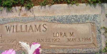 WILLIAMS, LORA MAY - Yavapai County, Arizona | LORA MAY WILLIAMS - Arizona Gravestone Photos