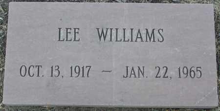 WILLIAMS, LEE - Yavapai County, Arizona | LEE WILLIAMS - Arizona Gravestone Photos