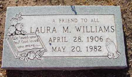 WILLIAMS, LAURA M. - Yavapai County, Arizona | LAURA M. WILLIAMS - Arizona Gravestone Photos