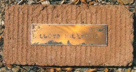 WILLIAMS, LLOYD - Yavapai County, Arizona | LLOYD WILLIAMS - Arizona Gravestone Photos