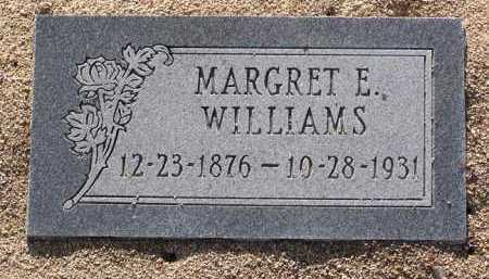 WILLIAMS, MARGRET E. - Yavapai County, Arizona   MARGRET E. WILLIAMS - Arizona Gravestone Photos
