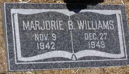 WILLIAMS, MARJORIE B. - Yavapai County, Arizona   MARJORIE B. WILLIAMS - Arizona Gravestone Photos