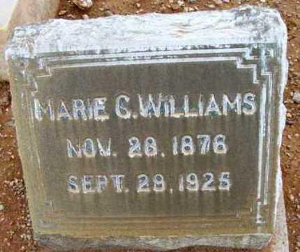 MCGARY WILLIAMS, MARIE C. - Yavapai County, Arizona | MARIE C. MCGARY WILLIAMS - Arizona Gravestone Photos