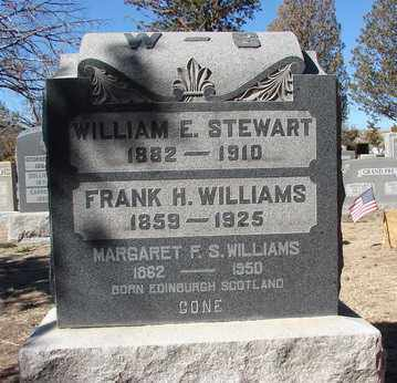 WILLIAMS, MARGARET  F. S. - Yavapai County, Arizona | MARGARET  F. S. WILLIAMS - Arizona Gravestone Photos