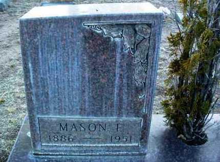 WILLIAMS, MASON FOSTER - Yavapai County, Arizona   MASON FOSTER WILLIAMS - Arizona Gravestone Photos
