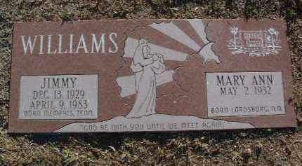 WILLIAMS, MARY ANN - Yavapai County, Arizona | MARY ANN WILLIAMS - Arizona Gravestone Photos
