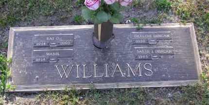WILLIAMS, MABEL - Yavapai County, Arizona | MABEL WILLIAMS - Arizona Gravestone Photos