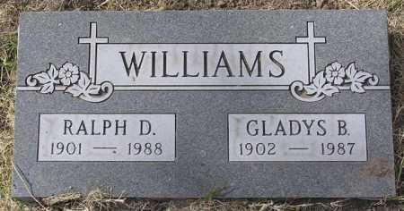 WILLIAMS, GLADYS B. - Yavapai County, Arizona | GLADYS B. WILLIAMS - Arizona Gravestone Photos