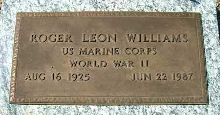 WILLIAMS, ROGER LEON - Yavapai County, Arizona | ROGER LEON WILLIAMS - Arizona Gravestone Photos