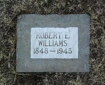 WILLIAMS, ROBERT EVANS - Yavapai County, Arizona | ROBERT EVANS WILLIAMS - Arizona Gravestone Photos