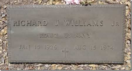 WILLIAMS, RICHARD JAMES - Yavapai County, Arizona | RICHARD JAMES WILLIAMS - Arizona Gravestone Photos