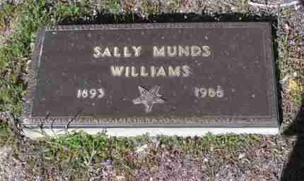 MUNDS WILLIAMS, SALLY - Yavapai County, Arizona | SALLY MUNDS WILLIAMS - Arizona Gravestone Photos