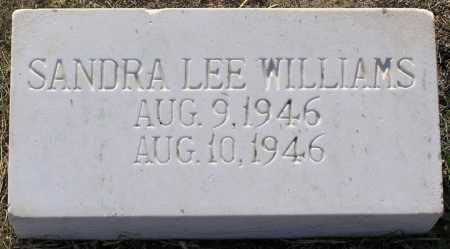 WILLIAMS, SANDRA LEE - Yavapai County, Arizona | SANDRA LEE WILLIAMS - Arizona Gravestone Photos