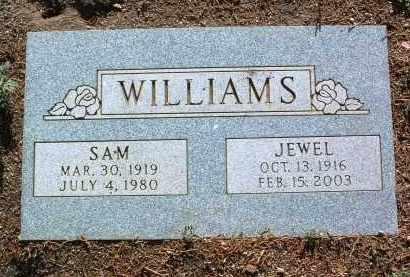 WILLIAMS, VAUGHN (SAM) - Yavapai County, Arizona | VAUGHN (SAM) WILLIAMS - Arizona Gravestone Photos