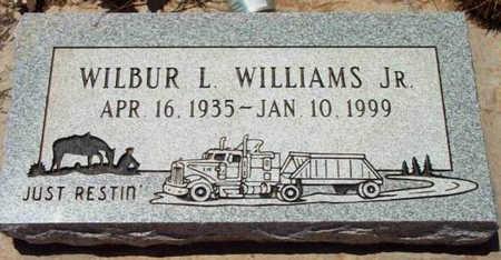WILLIAMS, WILBUR LESLIE, JR. - Yavapai County, Arizona   WILBUR LESLIE, JR. WILLIAMS - Arizona Gravestone Photos