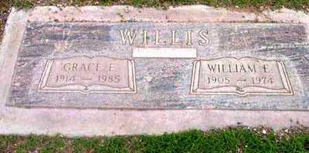 ALLEN WILLIS, GRACE E. - Yavapai County, Arizona | GRACE E. ALLEN WILLIS - Arizona Gravestone Photos