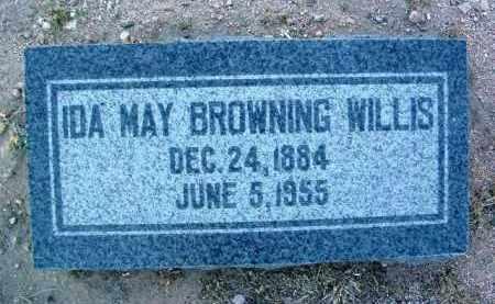 WILLIS, IDA MAY - Yavapai County, Arizona | IDA MAY WILLIS - Arizona Gravestone Photos