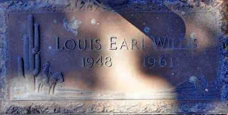 WILLIS, LOUIS EARL - Yavapai County, Arizona   LOUIS EARL WILLIS - Arizona Gravestone Photos