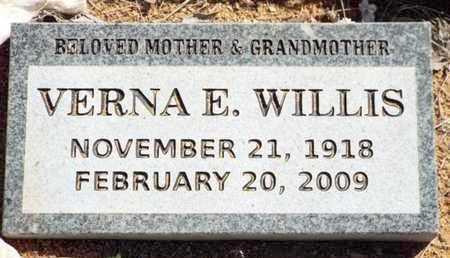 COCHRAN WILLIS, VERNA E. - Yavapai County, Arizona | VERNA E. COCHRAN WILLIS - Arizona Gravestone Photos