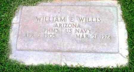 WILLIS, WILLIAM EDWARD - Yavapai County, Arizona | WILLIAM EDWARD WILLIS - Arizona Gravestone Photos