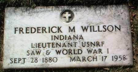 WILLSON, FREDERICK M. - Yavapai County, Arizona   FREDERICK M. WILLSON - Arizona Gravestone Photos