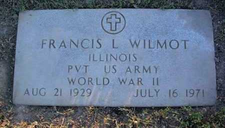 WILMOT, FRANCIS LOUIS - Yavapai County, Arizona | FRANCIS LOUIS WILMOT - Arizona Gravestone Photos