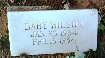 WILSON, BABY - Yavapai County, Arizona   BABY WILSON - Arizona Gravestone Photos