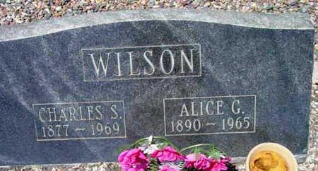 WILSON, ALICE GERTRUDE - Yavapai County, Arizona | ALICE GERTRUDE WILSON - Arizona Gravestone Photos