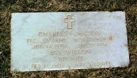 WILSON, CHARLES F. - Yavapai County, Arizona | CHARLES F. WILSON - Arizona Gravestone Photos