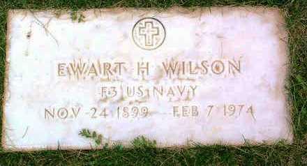 WILSON, EWART HOMER - Yavapai County, Arizona | EWART HOMER WILSON - Arizona Gravestone Photos