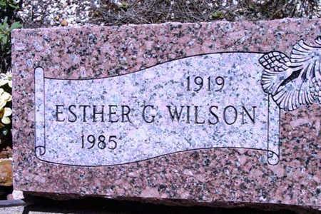 WILSON, ESTHER G. - Yavapai County, Arizona | ESTHER G. WILSON - Arizona Gravestone Photos