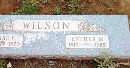 WILSON, ESTHER MAY - Yavapai County, Arizona | ESTHER MAY WILSON - Arizona Gravestone Photos
