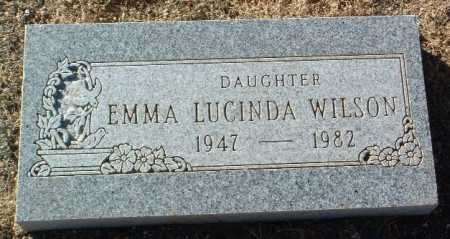 WILSON, EMMA LUCINDA - Yavapai County, Arizona | EMMA LUCINDA WILSON - Arizona Gravestone Photos