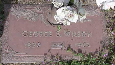WILSON, GEORGE S. - Yavapai County, Arizona   GEORGE S. WILSON - Arizona Gravestone Photos