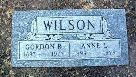 WILSON, ANNE LILLIAN - Yavapai County, Arizona | ANNE LILLIAN WILSON - Arizona Gravestone Photos