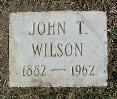 WILSON, JOHN THOMAS - Yavapai County, Arizona | JOHN THOMAS WILSON - Arizona Gravestone Photos
