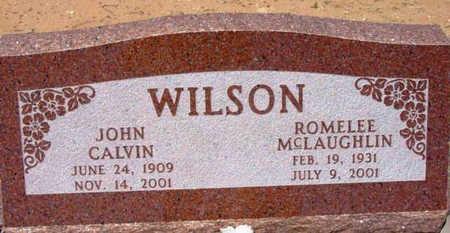 MCLAUGHLIN WILSON, ROMELEE - Yavapai County, Arizona   ROMELEE MCLAUGHLIN WILSON - Arizona Gravestone Photos