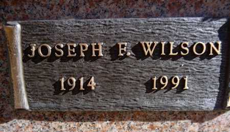 WILSON, JOSEPH FRANKLIN - Yavapai County, Arizona   JOSEPH FRANKLIN WILSON - Arizona Gravestone Photos